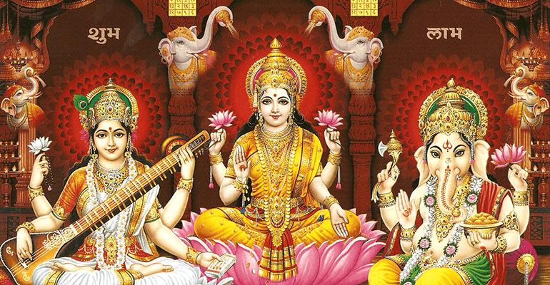 богиня Лакшми ритуал богатства от индейцев