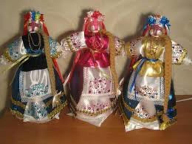 куклы обереги для работы